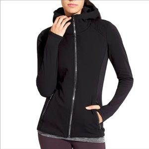 Athleta Luxe Stronger Hoodie Size S